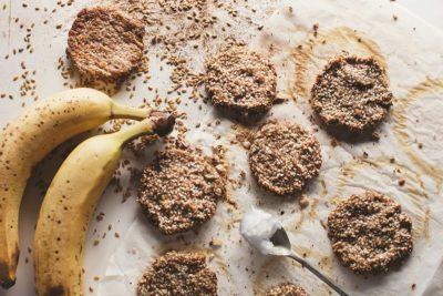 Ciasteczka z sezamem bez mąki