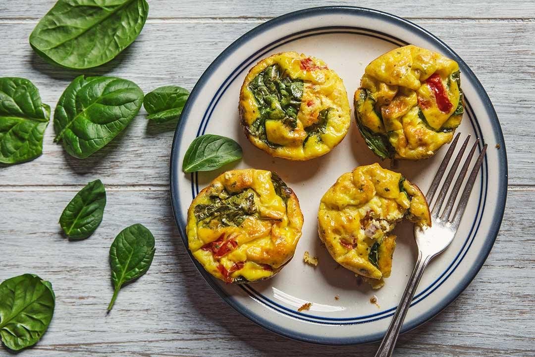 Absolutnie dobre - Muffiny jajeczne z warzywami