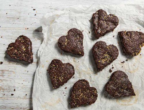 Walentynkowe ciasto czekoladowe