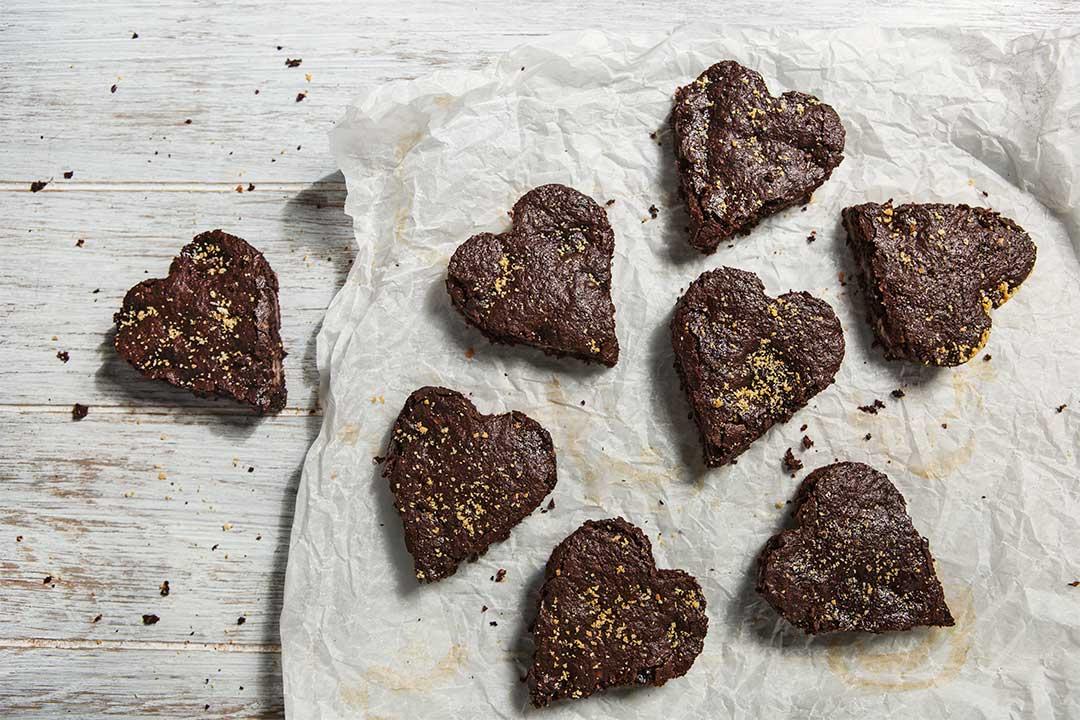 Absolutnie dobre - Walentynkowe ciasto czekoladowe