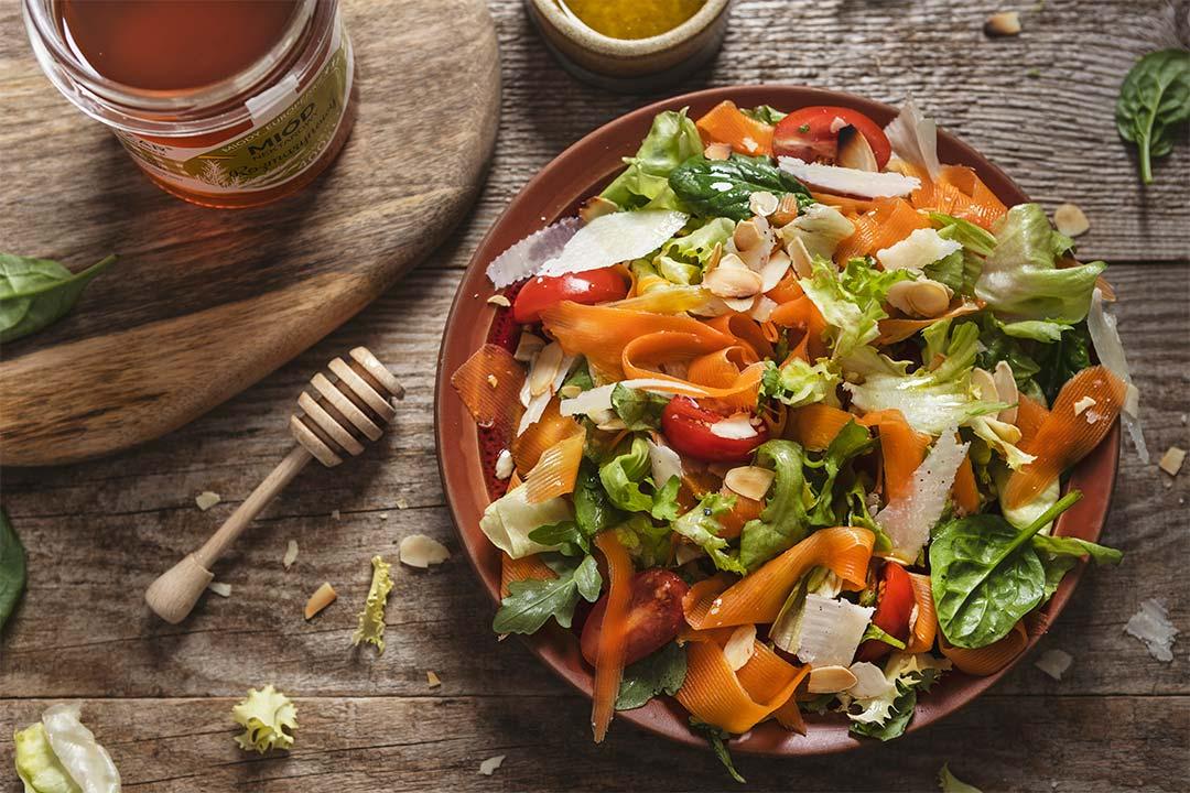 Absolutnie dobre - Sałatka z marchewką